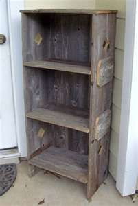 Make with old barn wood