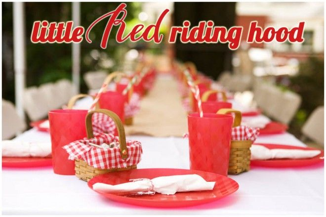 Little Red Riding Hood party {click through to see list of sources}