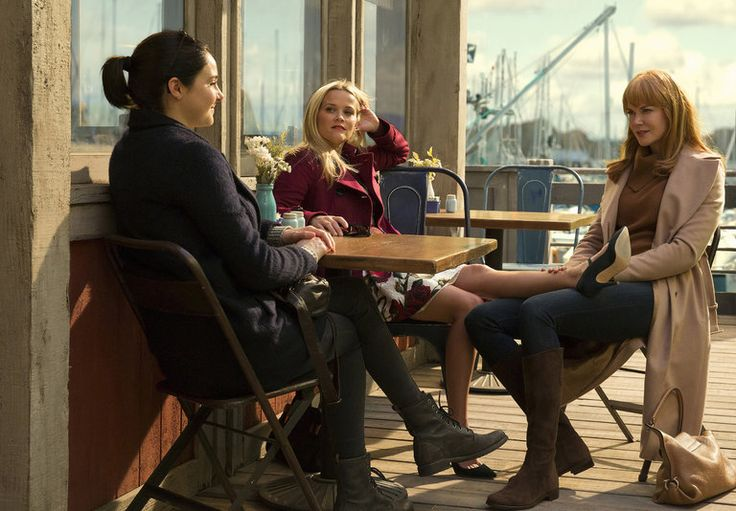 This glossy HBO series set in California doesn't focus on the mystery at its core but rather on women whose stories involve everyday angst.