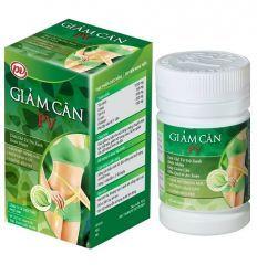 GIAM CAN PV - Эффективное средство на основе трав для похудения, сжигатель жира - 60 таблеток. Вьетнам.
