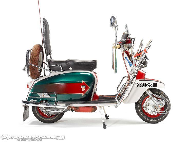Mod Lambretta used in the film Quadrophenia