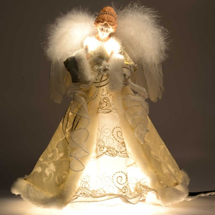 This Angel Tree Topper is so beautiful!