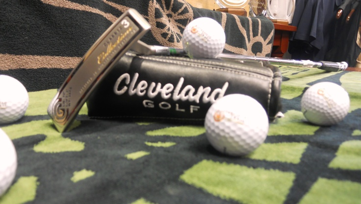 New in the shop, Cleveland putters— at Butterfield Trail Golf Course.