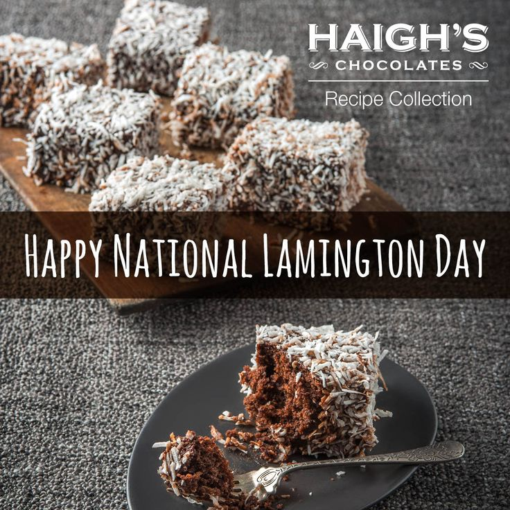 Happy National Lamington Day! Legend has it that this iconic cake was created by mistake by Lord Lamington, former Governor of Queensland. We think it's a delicious mistake and what better way to celebrate than to make our Chocolate Lamingtons. Made with our 70% and dark chocoalate pastilles, they are rich and chocolatey inside and out.