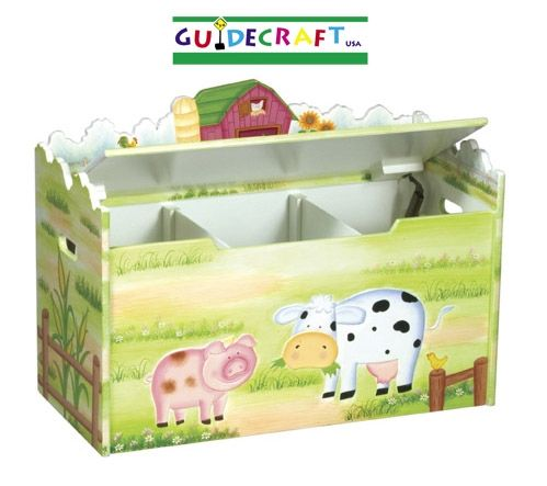 Little Farmhouse Toy Box