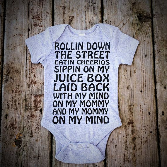 Baby Boy or Baby Girl Clothing Infant Bodysuit by MadJoApparel