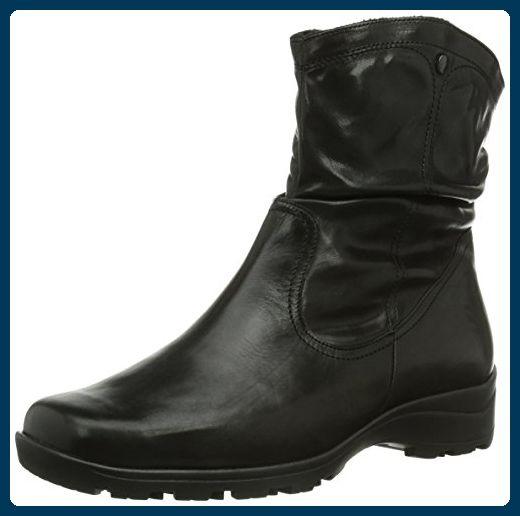 Semler Daniela Damen Kurzschaft Stiefel, Schwarz (001 schwarz), 36 1/3 EU - Stiefel für frauen (*Partner-Link)