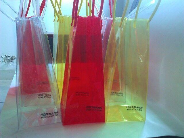 colorati di alta qualità borsa in pvc vino fresco in pvc trasparente sacchetto di plastica di teloni in pvc borsa