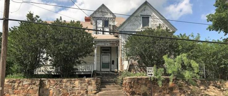 A Mineral Wells, Texas house is infamous as the home of nine ghosts. You can purchase the home today. Beware... it comes with certain warnings.