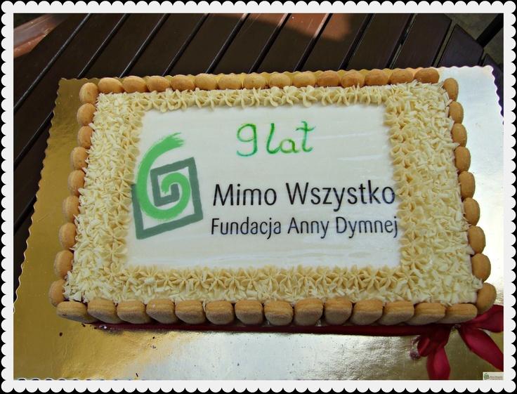 W tym roku (2012) kończymy 9 lat! #ngo #tort #urodziny