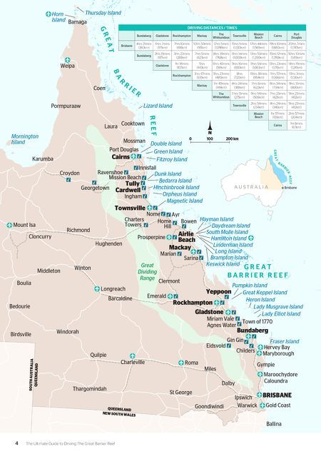 Tourism and Events Queensland - Great Barrier Reef Drive Guide 2017