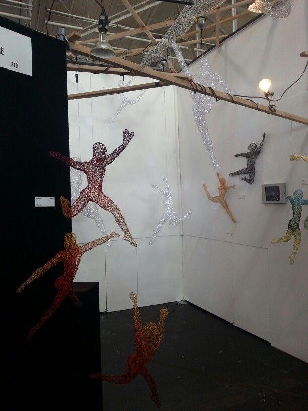 Michael Gard - Woven wire sculpture