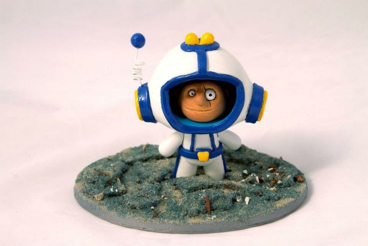 Blue Frog World - QiQi Space Ranger From Creo Design