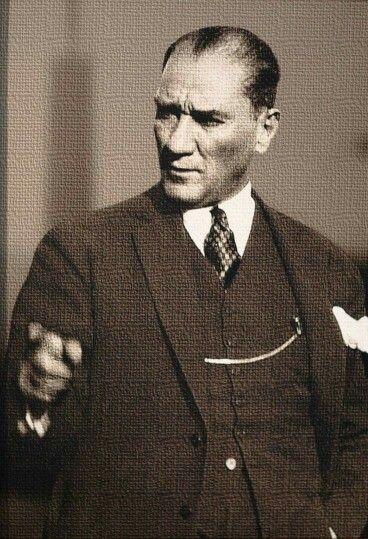 """İZİNDEYİZ ATA'M  """"Türkiye Cumhuriyeti Devleti ; """"Ben Türk değilim, ama benim de bu topraklarda hakkım var' diyenlere haddini bildirmek için kurulan bir devlettir""""  Başbuğ Mustafa Kemal ATATÜRK ."""