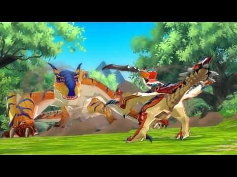 3DS RPG Monster Hunter Stories First Trailer - YouTube