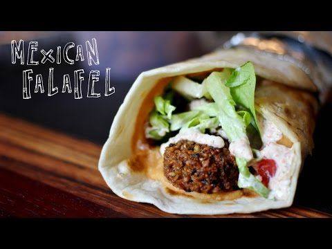 (1) The Mexican Falafel - YouTube