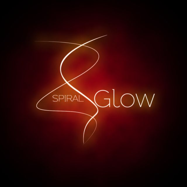 Spiral Red Glow, Spiral, Linear, Red Glow PNG Transparent