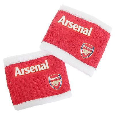 Arsenal fc #official 2 tone athletic football #crest #sport wristbands (pack of 2,  View more on the LINK: 	http://www.zeppy.io/product/gb/2/361865167744/