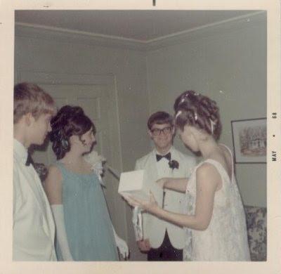 Retro Prom Corsages