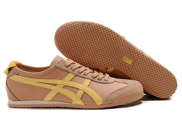 online store f04a5 696df Men s Onitsuka Tiger Mexico 66 Sport Shoes (Dark Pink  Yellow)   onitsukatiger