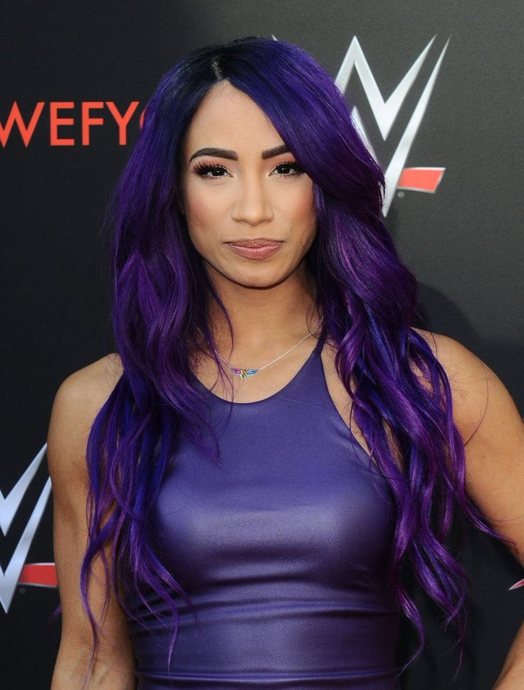 Sasha Banks at WWE FYC. | Sasha Banks | Pinterest | Sasha ...