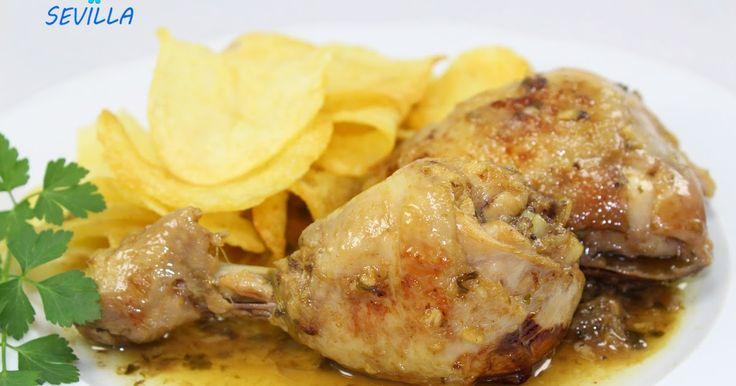 Pollo guisado de mamá, con olla gm