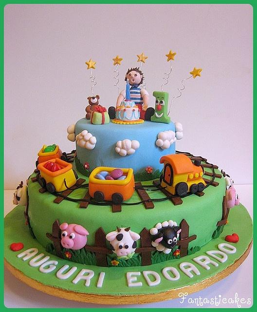 wow. cake.Gallery Pianetadonna It, Fotos Gallery, Tortas Trenino, Decori Torte, Cake Design, La Tortas, Amazing Cake, Fun Cake, Cake Decorating