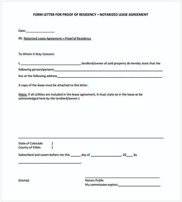 55 The Importance Of A Notarized Letter And How To Get It Letter Template Word Letter Templates Letter Templates Free