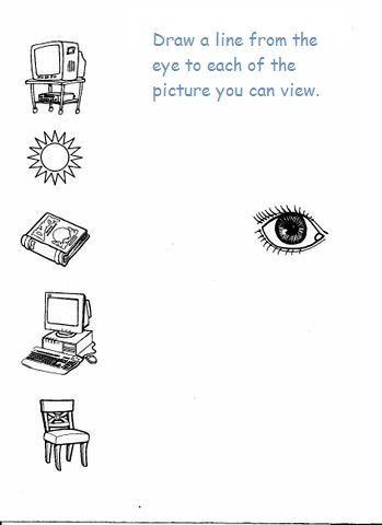 5 senses worksheet for kids (7)      Crafts and Worksheets for Preschool,Toddler and Kindergarten