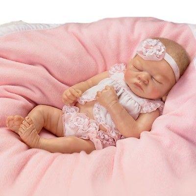 ASHTON DRAKE So Truly Real MY PERFECT EMILY Baby Doll 10th Anniv LTD 1000 NEW