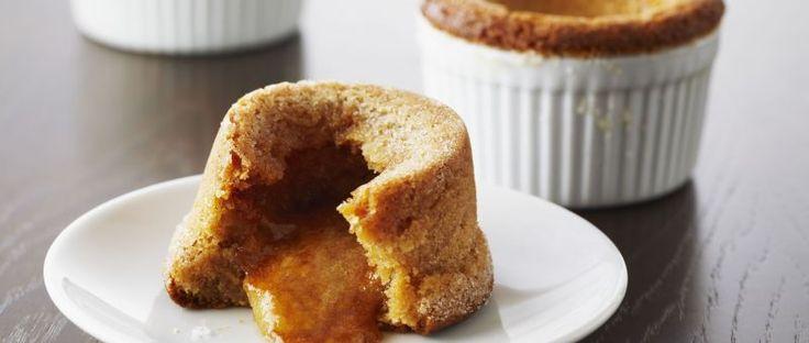 VOLCANES con Crema de Maní - Chff. Anna Olson- Prog. El gourmet- http://elgourmet.com/receta/volcanes-con-crema-de-mani