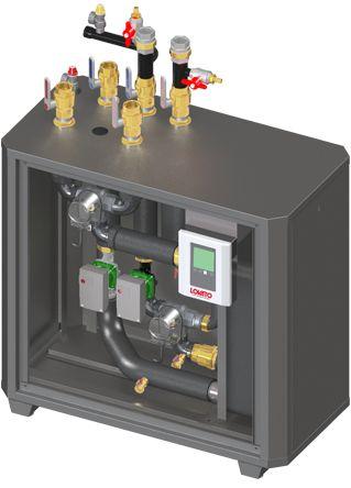 NEW 2014 BIG EXOL-AR2 è un modulo premontato di trasferimento del calore solare per il caricamento di accumulatori d'acqua tecnica e accumulatori tampone.