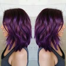 Image result for plum eggplant hair color