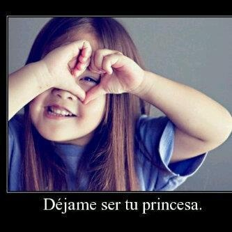 para todas las que queremos ser las princesas