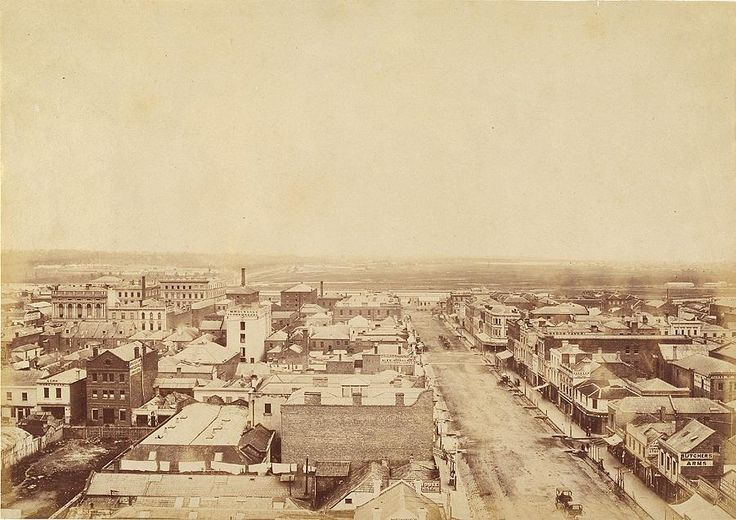 Elizabeth Street, Melbourne | UNKNOWN | NGV (1860-1870)