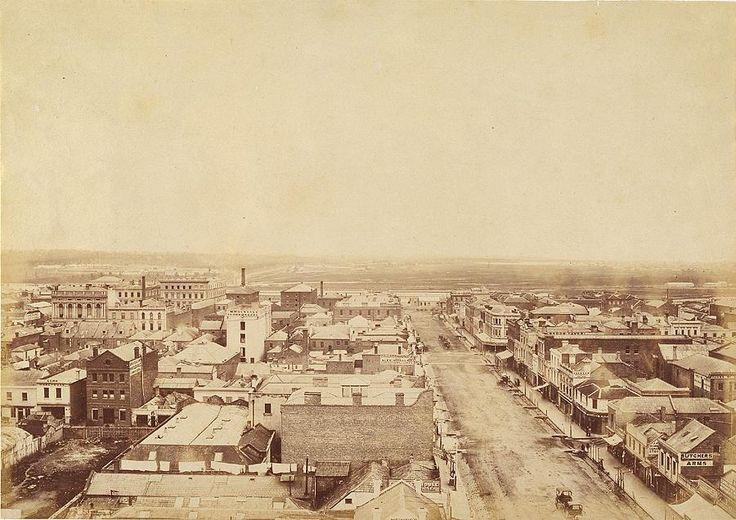 Elizabeth Street, Melbourne | UNKNOWN | NGV (1860-1870)