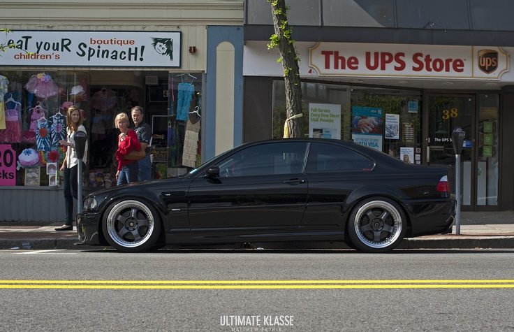 E46 M3 with Status Gruppe SRS coilovers, and full exhaust