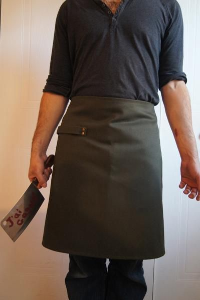 Tablier court/ short apron – Caroline Letang