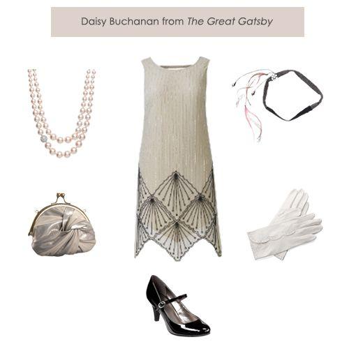 Dressing Daisy Buchanan from The Great Gatsby