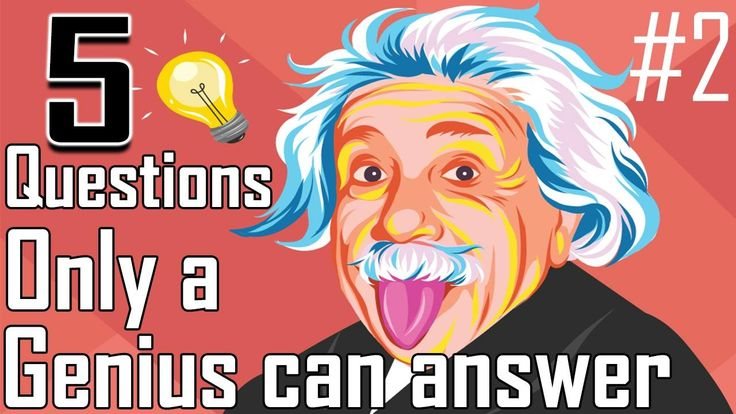 5 Simple Questions Only a Genius Can Answer - Intelligence Test (Episode...