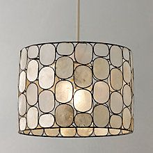 Buy John Lewis Easy-to-fit Molly Capiz Shade, Large Online at johnlewis.com