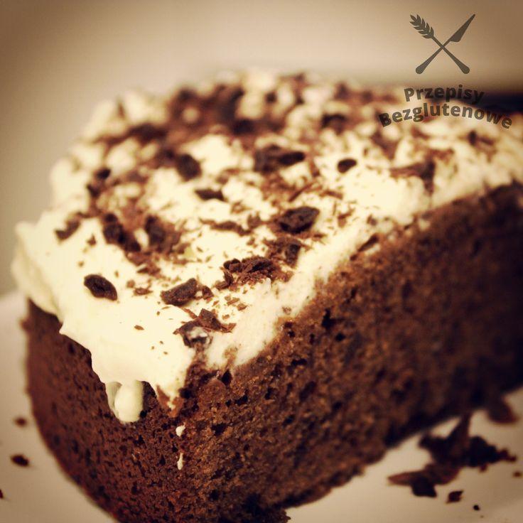 Brownie czekoladowe z czekoladą - Przepisy Bezglutenowe