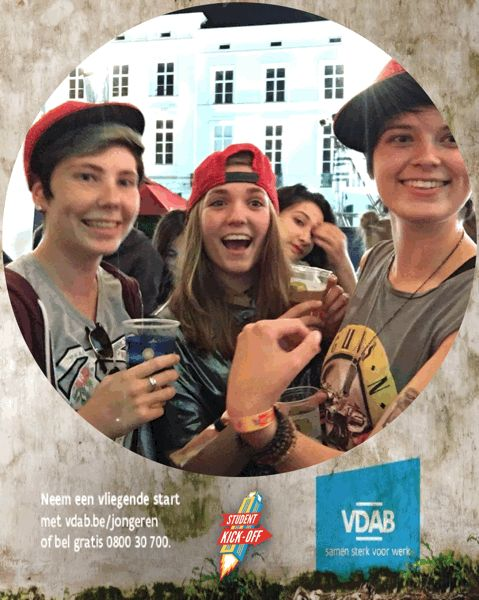 Student Kick off (client: VDAB) 2016