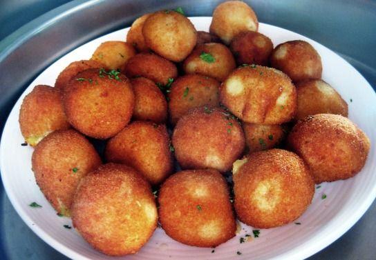 Palline di patate filanti - FRITTI