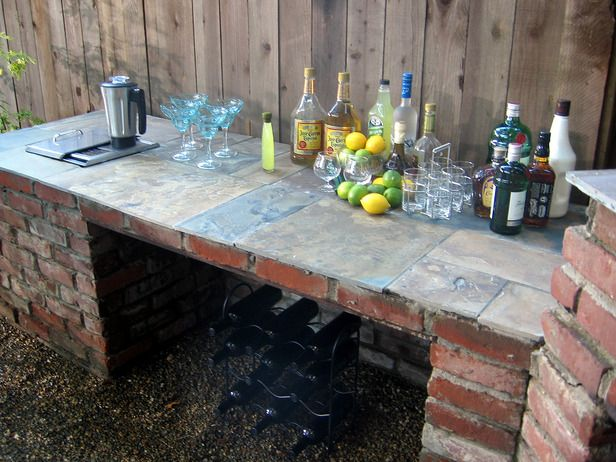 1000 ideas about rustic outdoor bar on pinterest for Rustic outdoor bar ideas