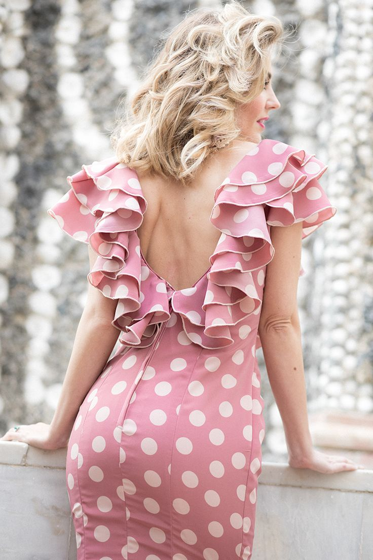 94 best polkadot images on Pinterest | Polka dots, Block dress and ...