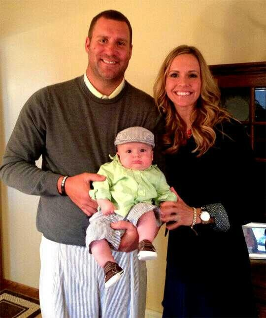 PITTSBURGH STEELERS~Big Ben & family Easter 2013