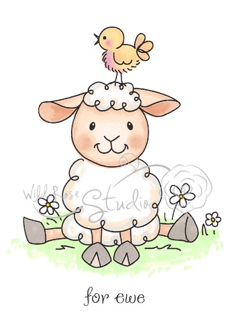 Wild Rose Studio - SHEEP FOR EWE