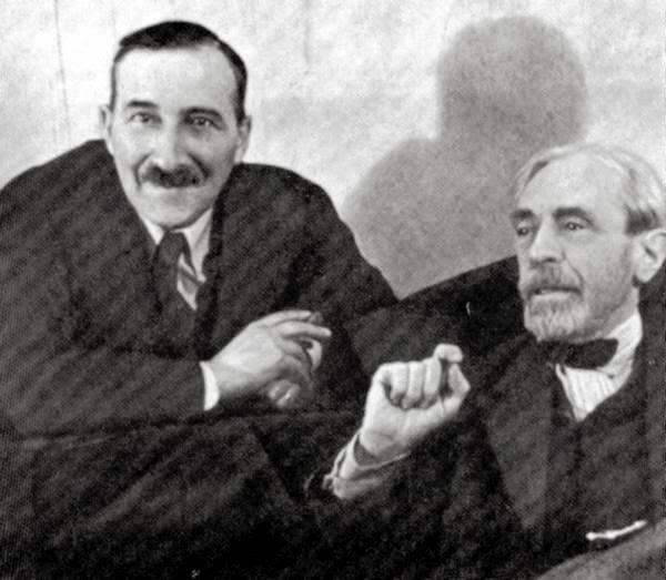 Stefan Zweig and Paul Valéry