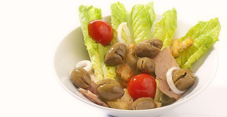Ricetta Insalata di tonno con olive Nocellara Etnea - Ricette con le Olive